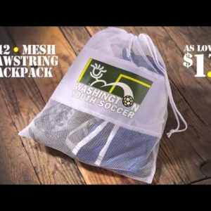 B242 Mesh Drawstring Backpack