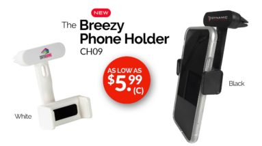 Breezy Phone Holder!