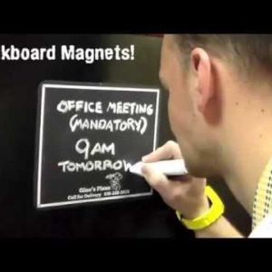 Chalkboard Magnets!
