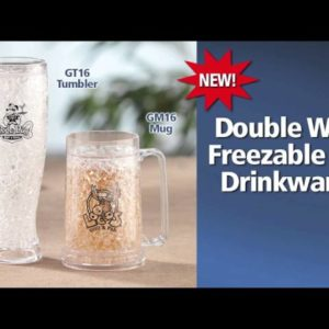 Double Wall Gel Tumblers!