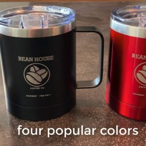 Double Wall Stainless Steel Vacuum Coffee Cup!