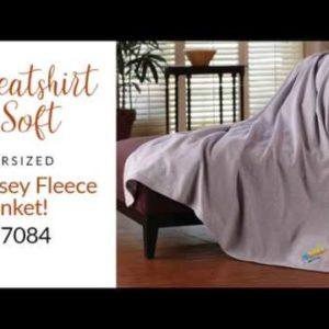 Jersey Fleece Blankets!