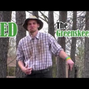 Ned the Greenskeeper ICG002 Linkster Golf Award