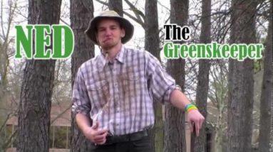 Ned the Greenskeeper ICG002 Linkster Golf Award