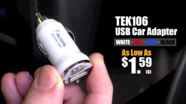 TEK106 USB Car Adapter Saves the Day
