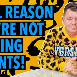 The REAL Reason You're NOT Getting Clients | 13 Tips for your Web Design Business
