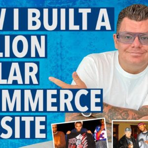 How I Built a MILLION Dollar E-Commerce Website Selling T-Shirts & Shoes with NO Money