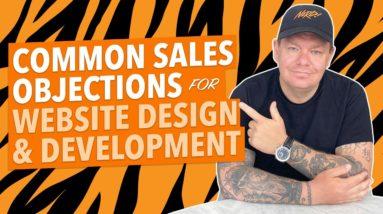 Website Design & Development: 10 Common Sales Objections