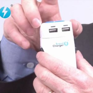 BrandCharger® TravelPro featured in Joe Show   ASI Orlando 2014